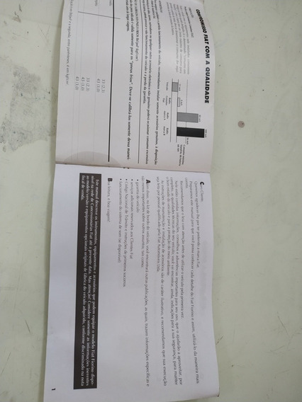 Manual De Uso E Manutenção Fiat Fiorino Vivace 1.4