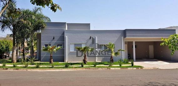 Casa Com 3 Dormitórios À Venda, 188 M² Por R$ 780.000,00 - Condomínio Campos Do Conde - Paulínia/sp - Ca9823