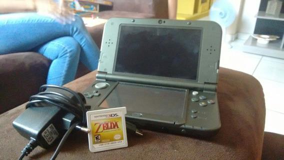 New Nintendo 3ds Xl (com Carregador + 1 Jogo )