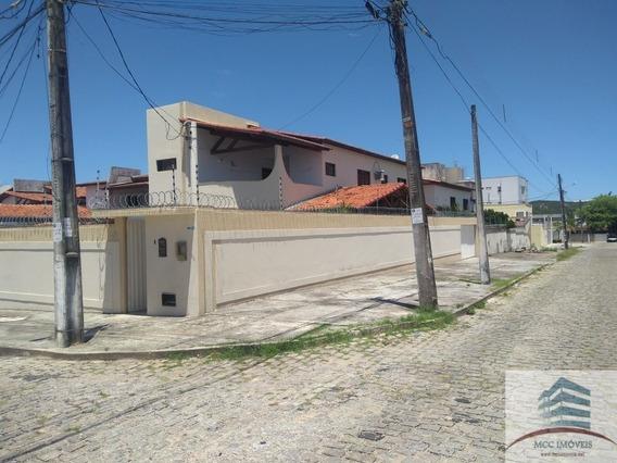 Casa De Esquina Para Venda Em Lagoa Nova