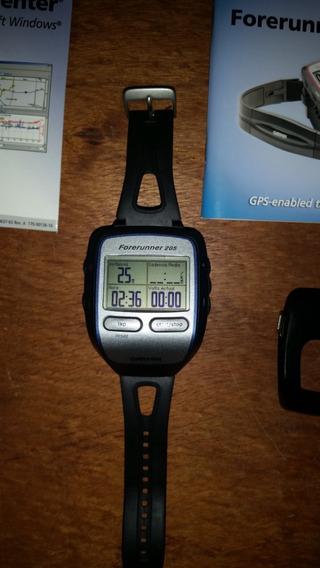 Relógio Garmin Forerunner 205. Carregador, Manual, Cd, Caixa