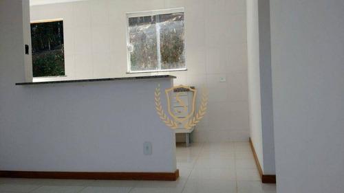 Imagem 1 de 8 de Apartamento Com 2 Dormitórios À Venda, 48 M² Por R$ 180.000,00 - Albuquerque - Teresópolis/rj - Ap0061
