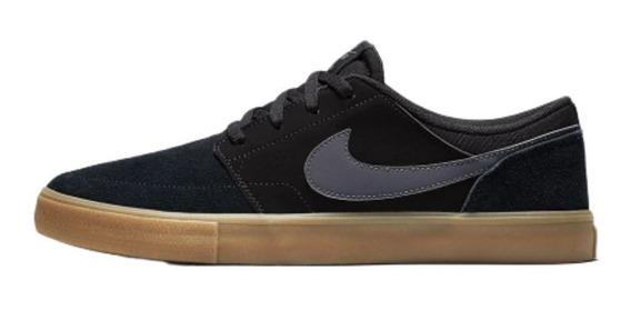 Ténis Skate Nike Sb Portmore Ii Solar Original Promoção