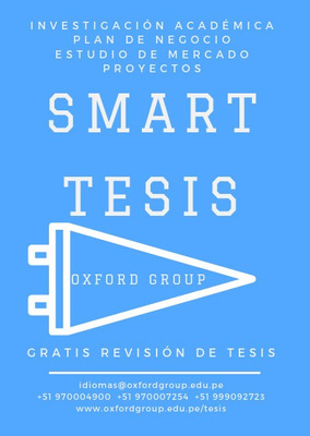 Smart Tesis Sustenta Con Éxito +51 970004900 +51 970007254