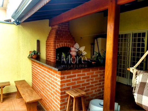Venda De Casa Modelo Mariana De Canto Com 3 Quartos, Imóvel Rico Em Planejados, Em Condomínio No Villa Flora Em Sumaré Sp - Ca00873 - 68295959