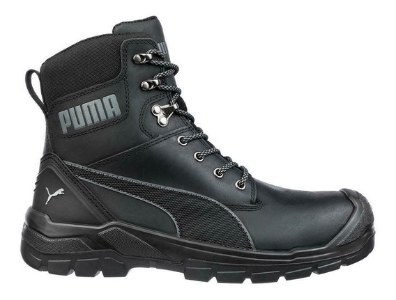 Botas Puma Safety Conquest Safety Toe Waterproof Black 63073