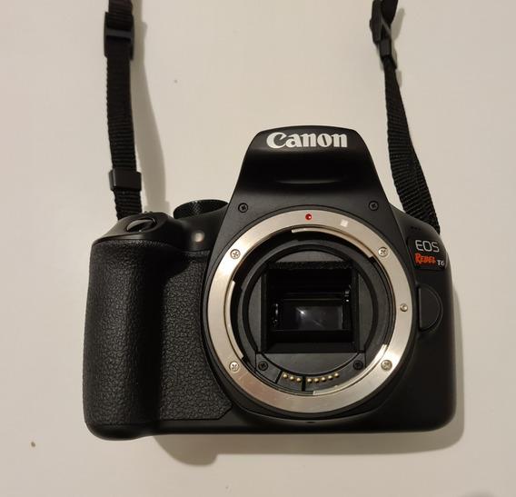 Canon Eos Rebel T6 + Lente 75-300mm