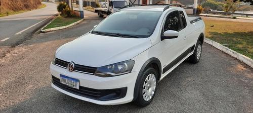 Imagem 1 de 8 de Volkswagen Saveiro 1.6 Trend Cab. Estendida Total Flex 2p