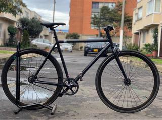 Bicicleta Piñón Fijo Create Black