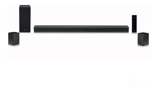 Soundbar Lg Com 4.1 Canais E 500w - Sk6rf