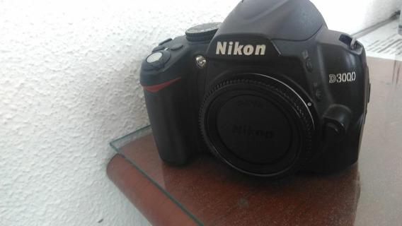 Camera Nikon D3000 Só Corpo