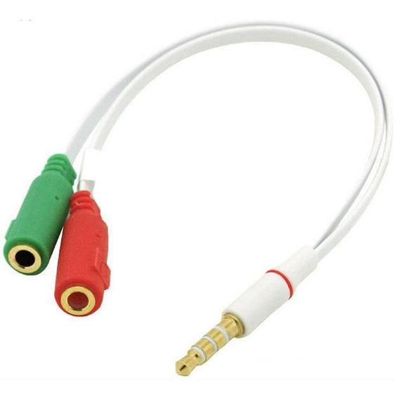 Cabo De Áudio Adaptador P2xp2 Áudio E Fone