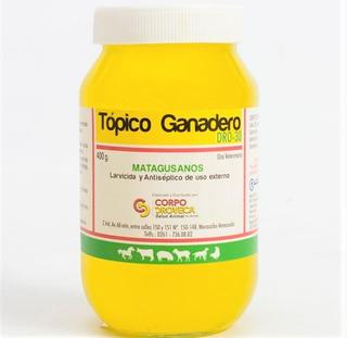 Topico Ganadero Matagusano En Gel X 400 Gr Lab Droveca