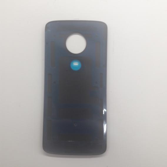 Vidro Tampa Traseira Motorola G6 Play Preto - Com Biometria