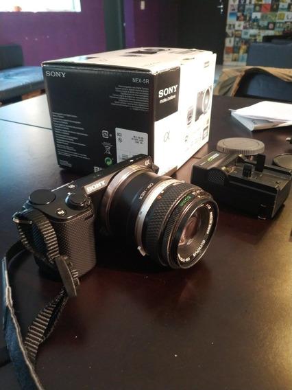 Camera Sony Nex 5r (melhor Que Canon T5i)