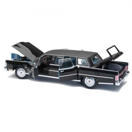 Miniatura Carro Lucky Lincoln Continental Reagan 1972 Escala