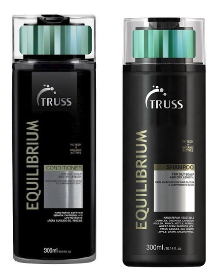 Kit Condicionador + Shampoo Truss Equilibrium 300ml