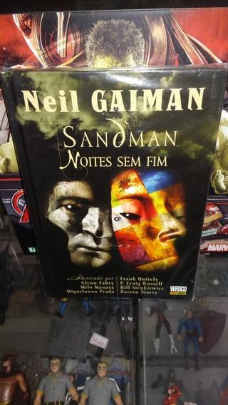 Sandman Noites Sem Fim Panini
