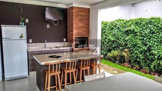Casa Térrea, Ampla E Arejada Em Condomínio Fechado E Terreno De 1.159,00 M² - Ca0564