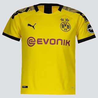 Camisa Puma Borussia Dortmund Home 2020 Juvenil
