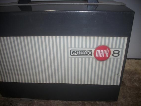 Filmeprogetor /eumig/ Marck 8mm /so Aprelho S/ Acessrio