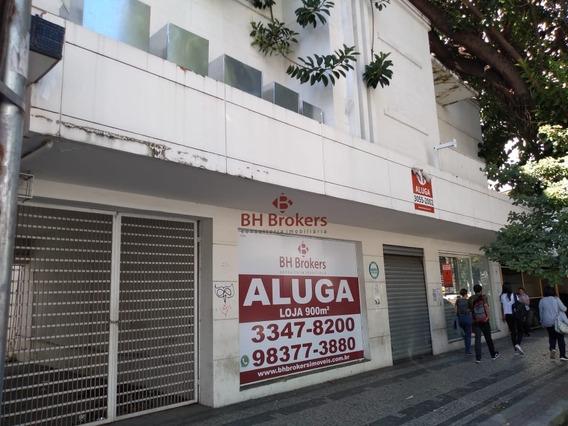 Loja Para Alugar, Barro Preto - 900m² - 16543