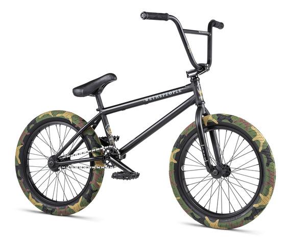 Bicicleta Wtp Justice Matt Black 2020 20.75tt