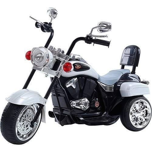 Triciclo Motoca Moto Elétrica Infantil Harley Davison