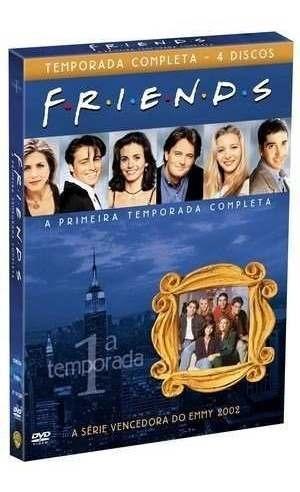 Box Friends 1º Primeira Temporada Completa 4 Dvds - Lacrado!