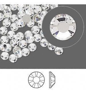 Strass 5mm Ss20 Cristal Termoadhesivo Hotfix Premium X Mil