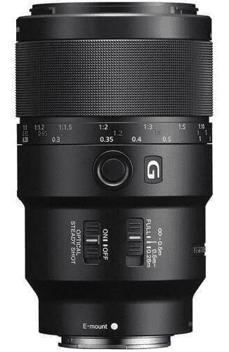 Lente Sony Fe 90mm F/2.8 Macro G Oss