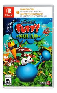 Super Putty Squad Nintendo Switch Codigo Original Juego *