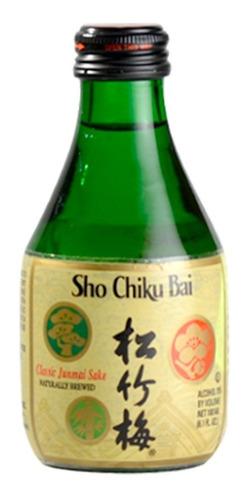 Imagen 1 de 4 de Sake Sho Chiku Bai Clásico (vino De Arroz) 180ml