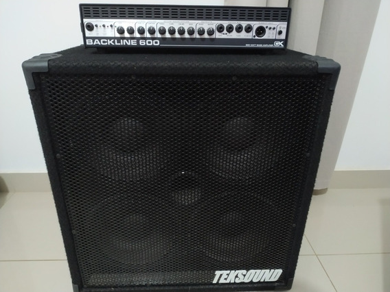 Cabeçote Gk Blackline 600 + Caixa Celestion 400w