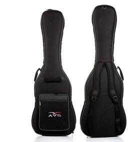 Bag Capa Para Contrabaixo Nylon Super Luxo Avs Ch 200