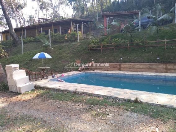 Cod.304 Ótima Chácara Com Playground E Lago Aos Fundos