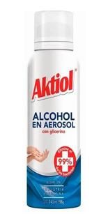 Aktiol Alcohol Spray Con Glicerina 143ml