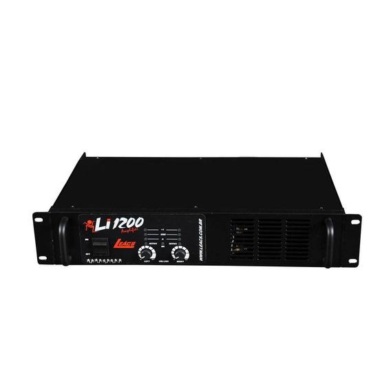 Leacs Li1200   Amplificador De Potencia 300w Rms