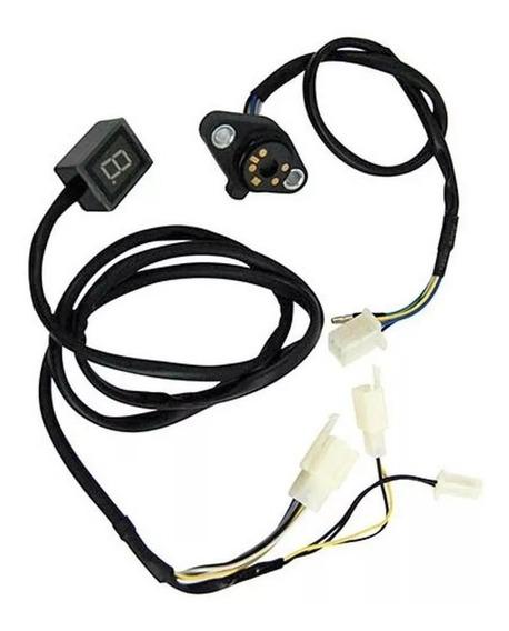 Sensor De Marcha Com Indicador Titan 150 Todas E Nxr Bros 150 Todas Imp Se031