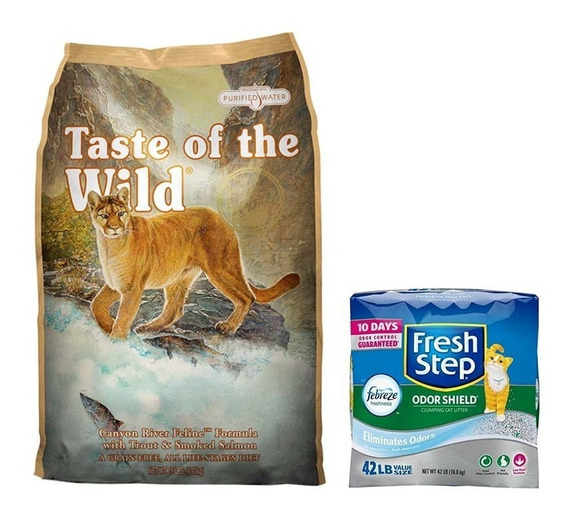 Taste Of The Wild Canyon River 14lb Y Arena Fresh Step 42lb
