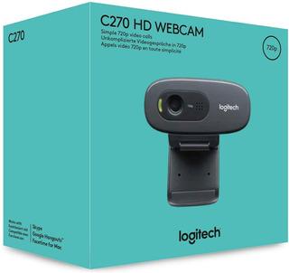 Logitech Web Cam C270 Hd Microfono