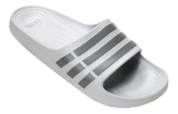 Chinelo Sandália adidas Duramo Slide B44298 Original + Nf