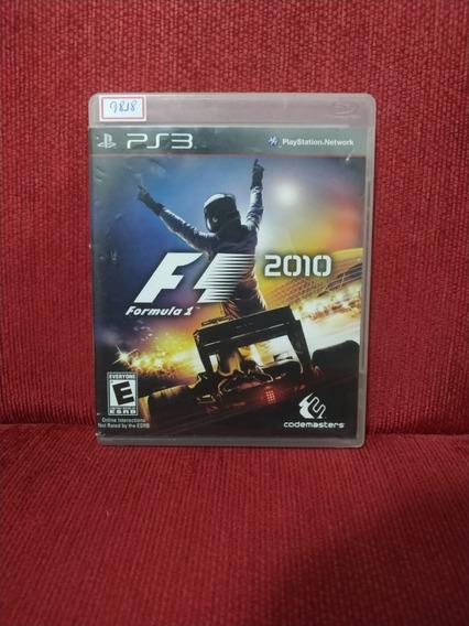 Formula 1 2010 Ps3 Mídia Física Usado R.9818