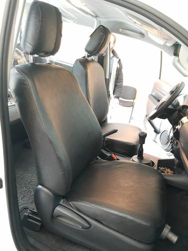 Funda Cuerina Premium Lisa Toyota Corolla 2021 -carfun-