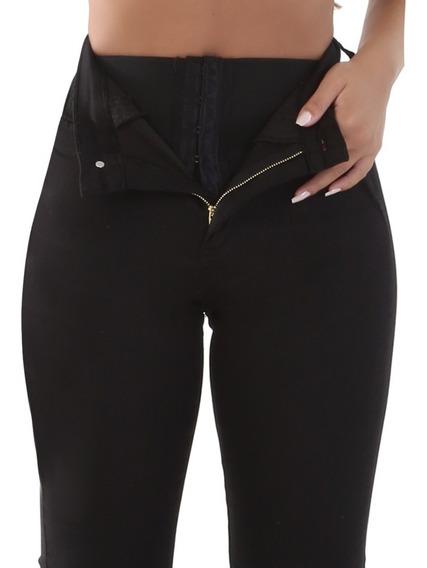 Calça Jeans Original Sawary Super Lipo Cintura Alta-flare