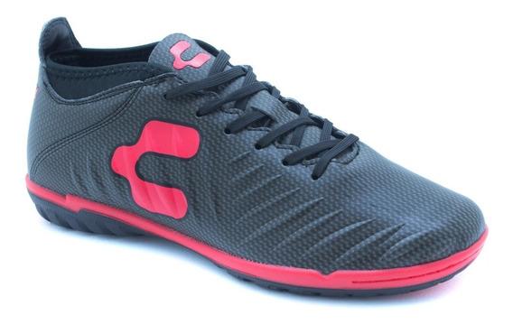 Charly Tenis Deportivos 1029325 Negro Rojo Originales