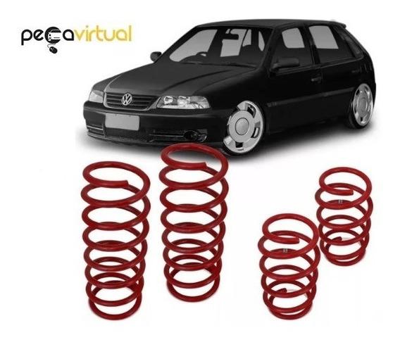 Kit 4 Molas Esportivas - Volkswagen Gol G2 G3 E G4