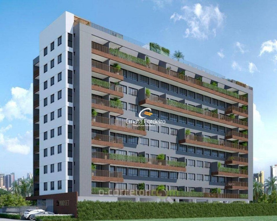 Apartamento Com 1 Dormitório À Venda, 65 M² Por R$ 258.280 - Manaíra - João Pessoa/pb - Ap2437