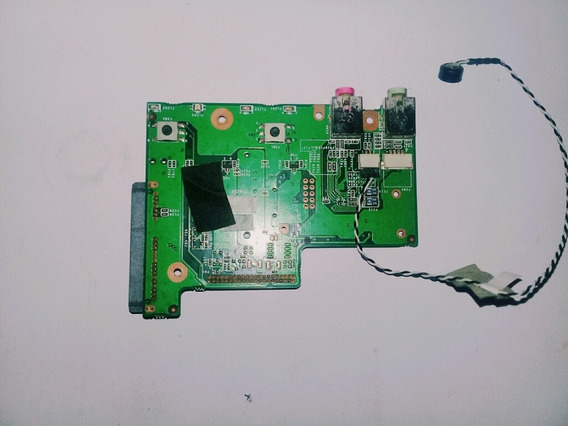 Placa Slot Do Hd E Audio Netbook Microboard Ellite E111