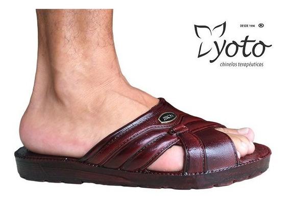 Chinelo Yoto 218 Calçado Esporão Joanete Fascite Plantar